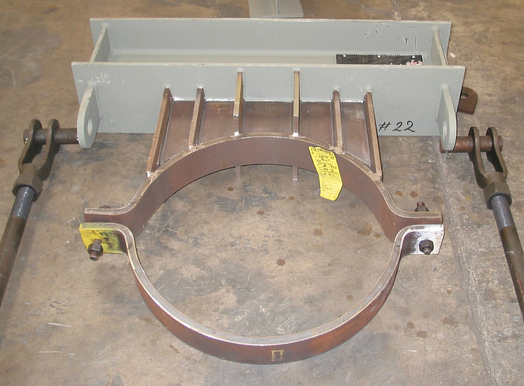 8,500 lb. Load Clamp Support Assembly