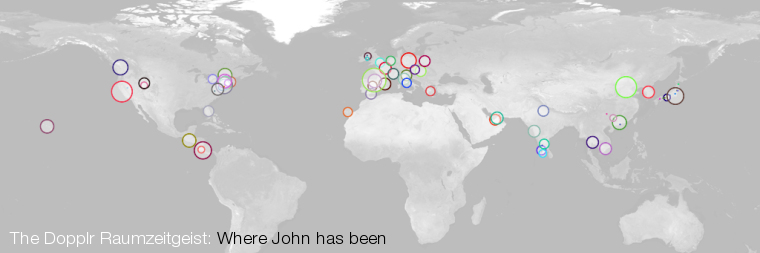 johndbritton Travel Map