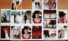 Debjani & Sandeep's LES Wedding (KarenWise) Tags: red film mediumformat manhattan lowereastside mehndi indianwedding angelorensanz