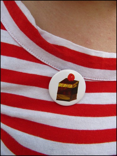 birthday button badge