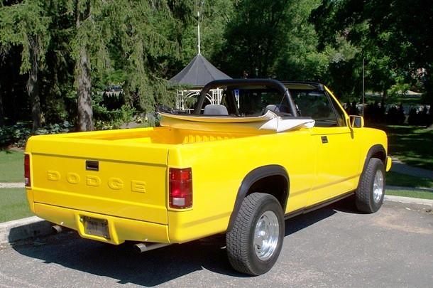 canada convertible dodge dakota 1990 dodgedakota dodgetruck dakotaconvertible