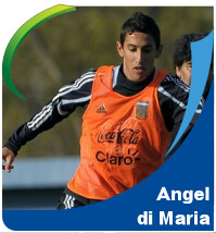 Pictures of Angel di Maria!