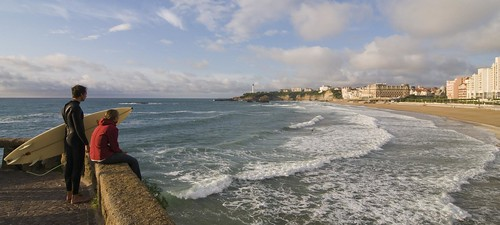 Biarritz surfer