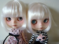 SIsters (Vainilladolly) Tags: paris doll blythe olga custom fbl fiep guidence vainilladolly mayacomes