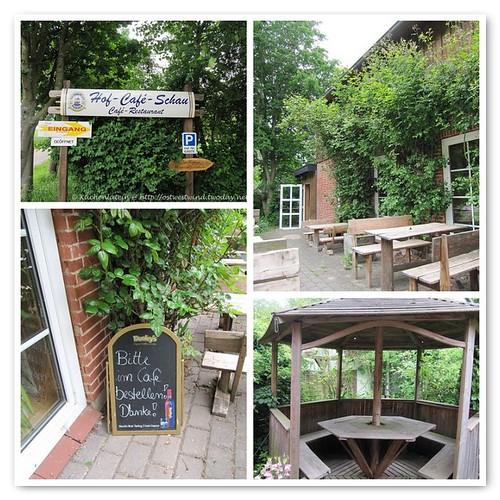 Hof - Café Schau in Damp