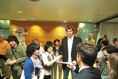 Visita del Caja Laboral Baskonia a nuestra sede central