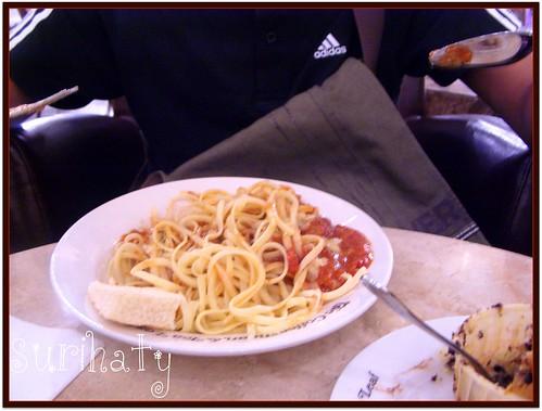 Spaghetti Sos Tuna Coffee Bean Pavilion