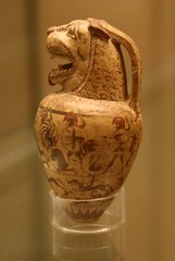 perfume bottle (museum.girl) Tags: art archaeology museum ceramic greek ancient greece pottery britishmuseum