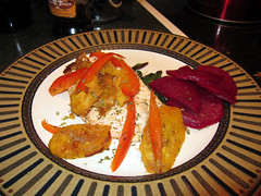 beets with chicken
