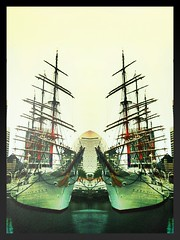 Ship of symmetry (Satoshi H (a.k.a ARCH)) Tags: camerabag 2010 iphone pictureshow prohdr iphoneography iphone3gs