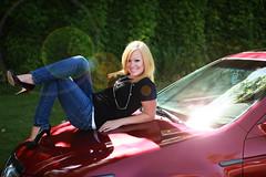 flare_1354 (Disney_Junkie) Tags: red senior girl blonde flare sunflare