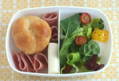 clover roll & sassy salad