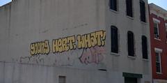 WHAT! (break.things) Tags: nyc newyorkcity ny newyork brooklyn graffiti hert dfm tonek resk younghertwhat