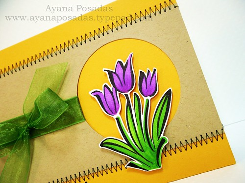 DeNami Purple Tulips (4)