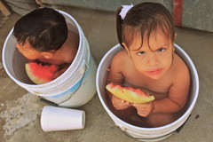 (ashliems) Tags: kids children puertovallarta browneyes watermellon naturalbeautyportraiture