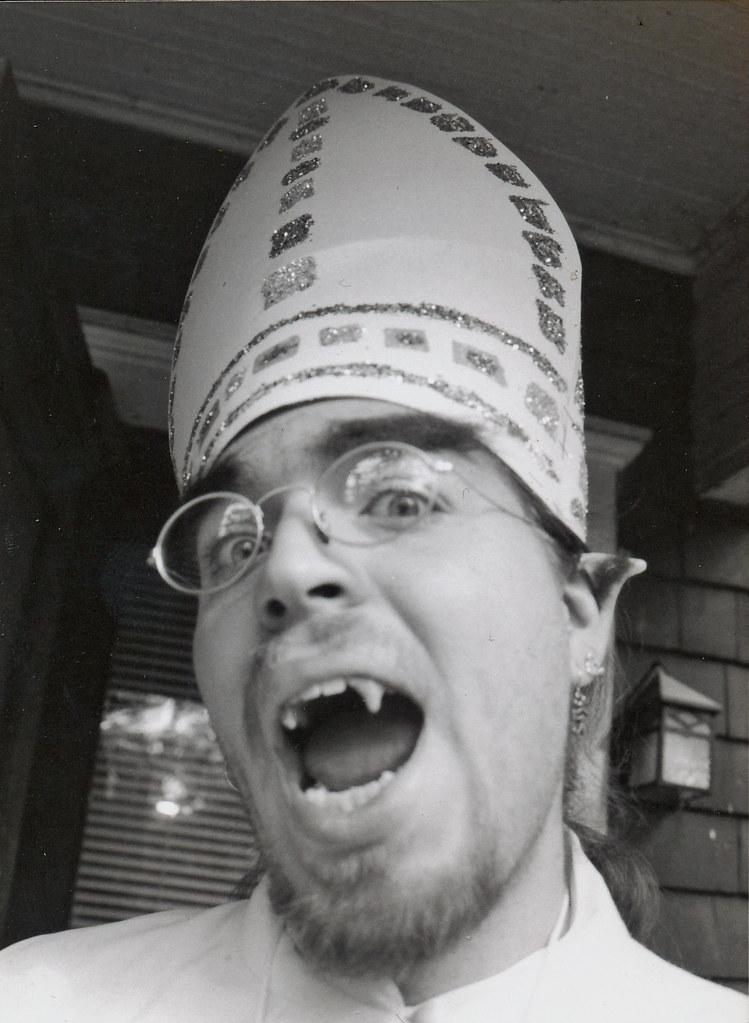benjamin as Pope Talbot - 1998