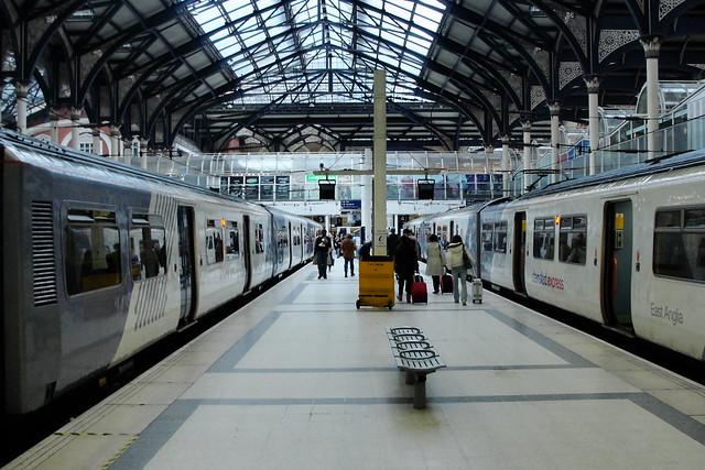 Victoria Tren İstasyonu'ndan bir görüntü