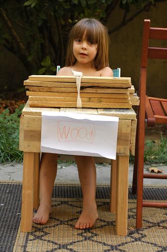 Weekending: Firewood Stand