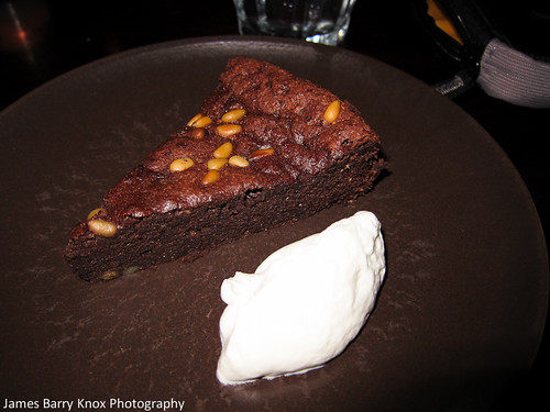Chocolate Torte w/Pine Nuts