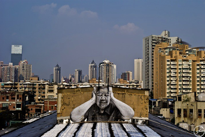 5127018749 da0238d4d9 b Artist JR   Street art raising questions across the world [24 Pics]