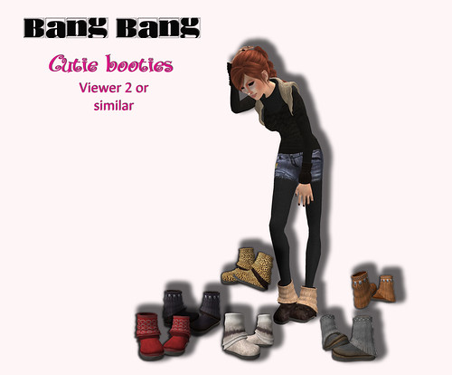 Bang Bang - Cutie booties - Some decisions are hard to take....