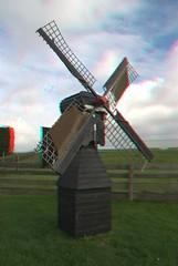 Weidemolen anaglyph (Quistnix!) Tags: windmill moulin 3d anaglyph molen windmolen windmühle molinodeviento moinhodevento moulinàvent weidemolen