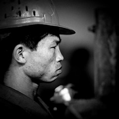 Worker in Nampo harbor - North Korea (Eric Lafforgue) Tags: people blackandwhite man male closeup port work square person harbor concentration war asia noiretblanc harbour head labor helmet security korea headshot communism travail labour worker asie coree personne humanbeing communisme homme tete northkorea grosplan headandshoulders casque dprk ouvrier coreadelnorte carre 3337 securite inprofile nordkorea deprofil blackandwhitepicture squarepicture democraticpeoplesrepublicofkorea    labeur nampo coreadelnord  etrehumain coreedunord  nampho insidenorthkorea  rpdc  kimjongun coreiadonorte  republiquepopulairedemocratiquedecoree teteetepaules imagecaree