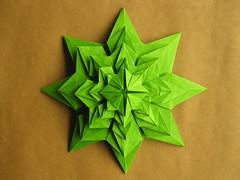 Román Diaz's Fractal (georigami) Tags: paper origami papel papiroflexia origamiforum