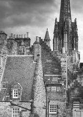 Historic Rooftops of Edinburgh