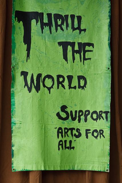 Thrill the World Banner