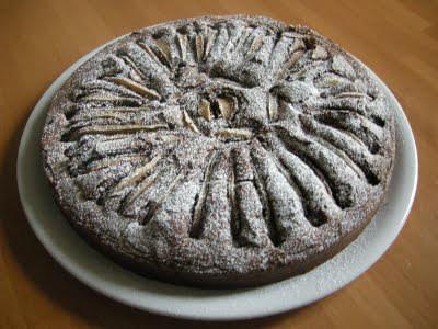 torta cioccolato pere n.1
