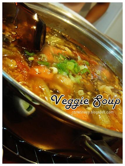 Potluck Dinner Monday: Veggie Soup
