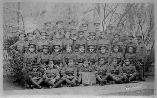 13th Platoon D Company Huntingdonshire Cyclist Battalion