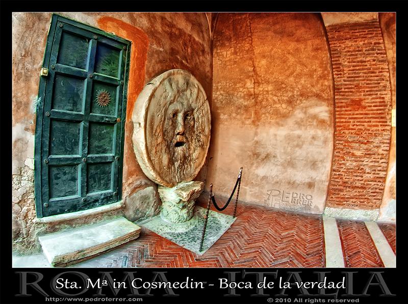 Roma - Sta María in Cosmedin - Boca de la verdad
