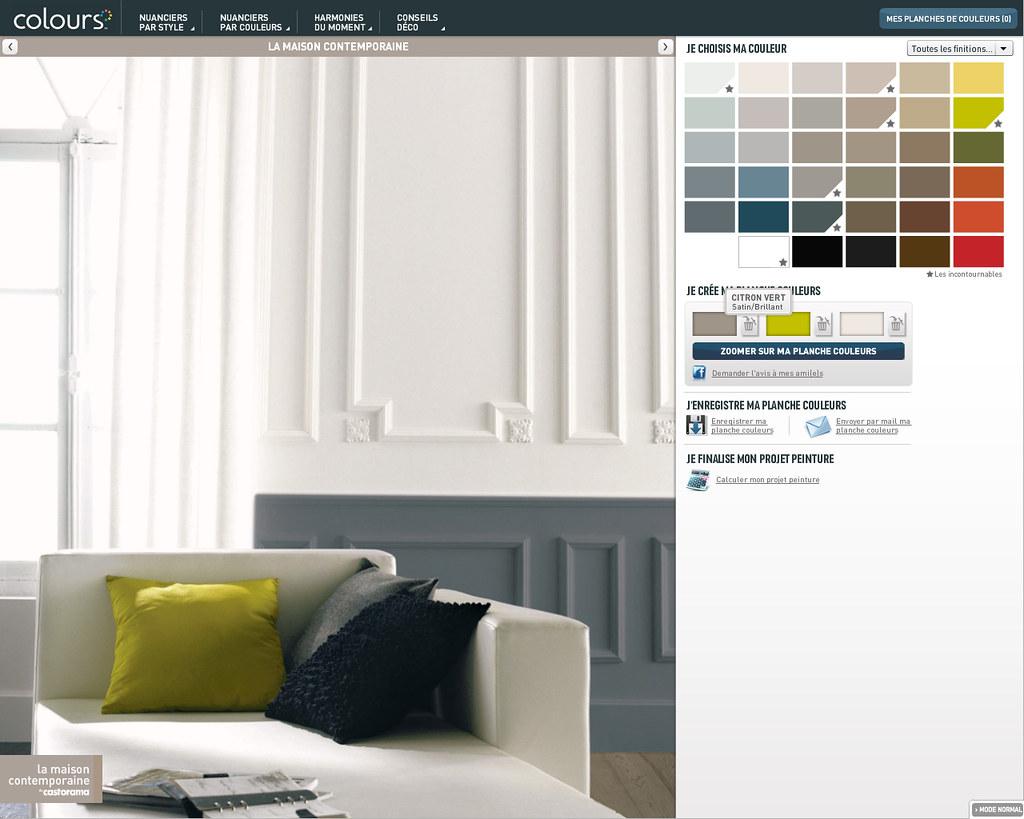 nuancier couleurs peinture castorama. Black Bedroom Furniture Sets. Home Design Ideas