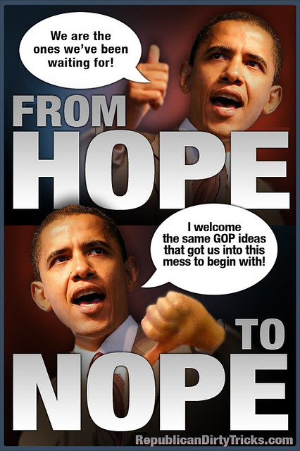 Barack Obama - From Hope To Nope -Capitulation We Cant Believe