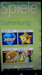 Windows Phone 7 Spiele