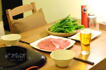 豬肉火鍋食材