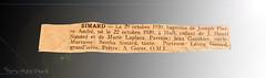 1939 ... ( P-A) Tags: 1939 parution journalpublication naissance baptême souvenir émotion parents précieux ledroit local photos simpa©