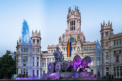 _DSF5570 (Antonio Balsera) Tags: cibeles lgtbi madrid marchadelorgullogay worldpride2017 ayuntamiento fuente comunidaddemadrid españa es