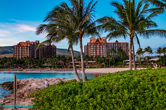 Aulani at sunset (robertperrin25) Tags: aulani sunset hawaii lagoon dvc