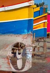 SAINT JULIAN'S TYPICAL MALTESE BOAT (patrick555666751) Tags: saintjulianstypicalmalteseboat saint julians typical maltese boat barque europe europa malta islands malte ile ilhas islas iles bleu blau blue typique mediterranee mediterranean mediterraneo mediterrannee flickr heart group village de pecheur fishing barco multicolore