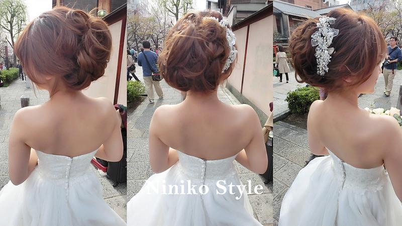 海外,日本,自助,婚紗,頭飾,花圈,簡約浪漫,京都,櫻花