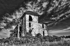 Almshouse B&W (Explored Jul 4, 2017 #147) (Mike Matney Photography) Tags: 2017 almshouse canon carrolton eos6d greenecounty illinois july midwest abandoned decay haunted rural carrollton unitedstates us
