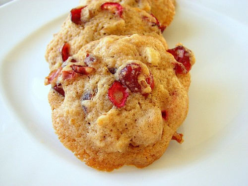 Cranberry Orange Drop Cookies