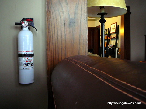 Living Room Extinguisher
