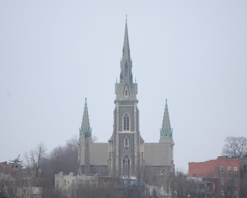 St. Josephs Church, Albany, N.Y.  Photo by Chuck Miller.