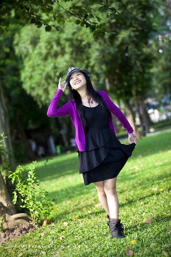 Hình chân dung model Coco Van Nguyen