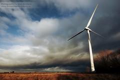 Turbine (~Glen B~) Tags: field clouds wind fens turbine cambridgeshire eastanglia ramsey