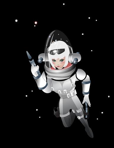 Nara in Space